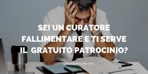 FALLIMENTO E GRATUITO PATROCINIO